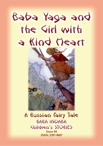 Baba Yaga, Russian, Girl with the Kind Heart - Cover